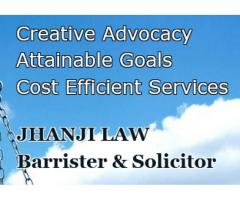 Jhanji Law - Barrister & Solicitor